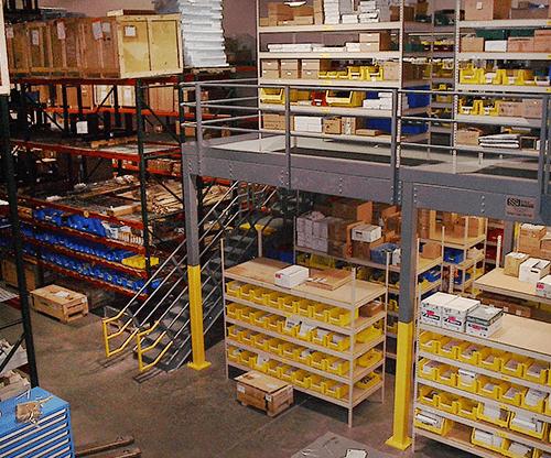 Mezzanine & Platform Storage