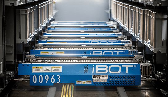 OPEX Warehouse Automation iBOT