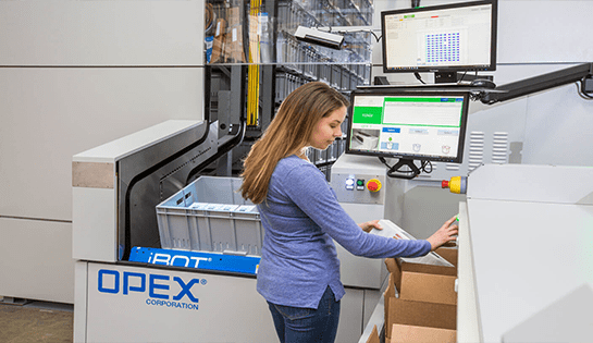 Opex Warehouse Optimization and Automation