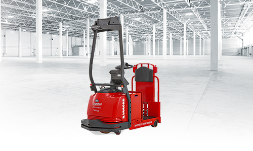Raymond Courier, Automated Lift Truck, Forklift, 3020