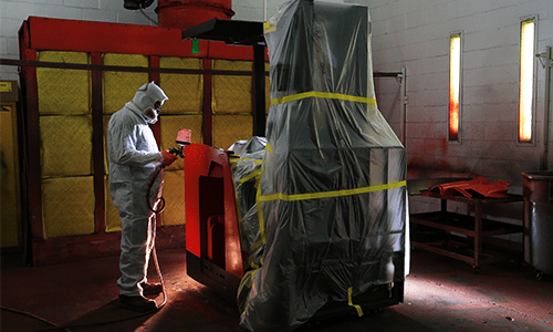 Werres Corporation Paint Booth