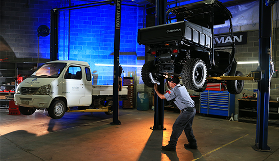 Werres Corporation Utility Vehicle Maintenance