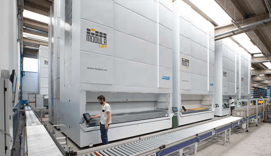 Werres Corporation, Systems Integration, Material Handling, Modula, Vertical Lift Modules