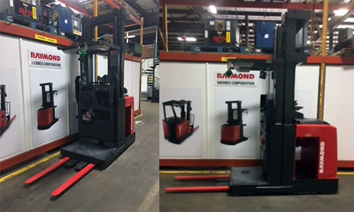 Used Raymond Wire Guided Order Picker for Sale