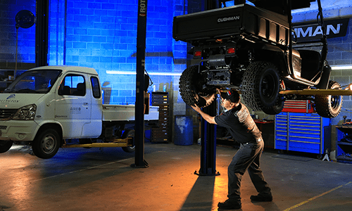 Utility Vehicle Service Requirements