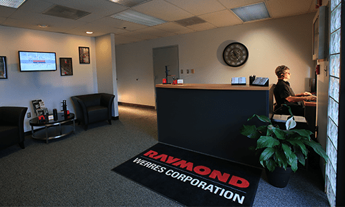 Werres Corporation Frederick Location Front Lobby