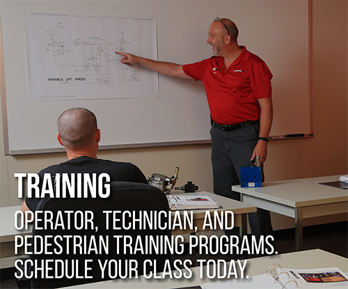 Werres Corporation, Schedule Training, Operator Training, Technician Training, Pedestrian Training