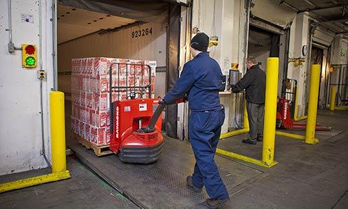 Raymond warehouse dock and door equipment